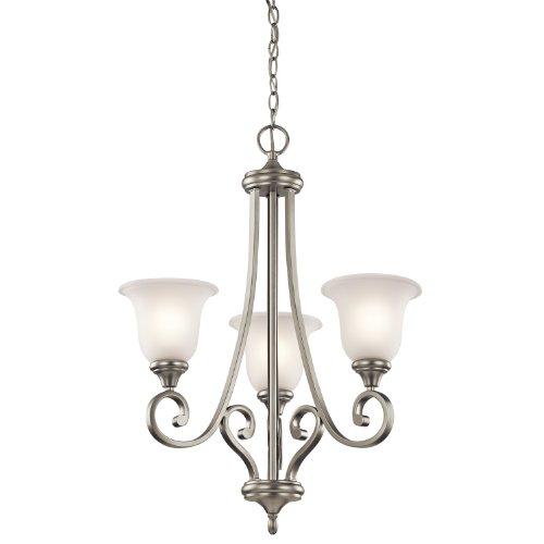 Kichler 43155 Chandeliers Monroe Indoor Lighting; Brushed