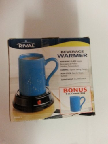 Rival Beverage Warmer with 8oz. Ceramic Mug by Rival