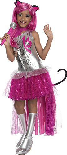 Rubies Monster High Frights Camera Action Catty Noir Costume, Child Small ()