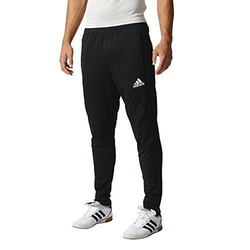 adidas Men's Soccer Tiro 17 Pants, X-Small, Black/White (Ball Soccer Adidas Usa)