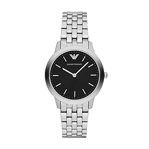 Emporio Armani Women's Quartz Stainless Steel Watch, Color:Silver-Toned (Model: AR1749)