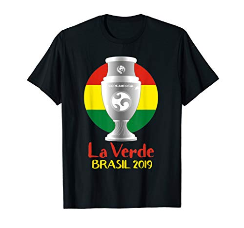 Bolivia Flag Soccer Jersey America 2019 Cup Gift T-Shirt