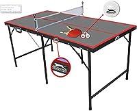 Tischtennisplatte Slazenger 153,5x77x68cm Junior mit schläger und bälle