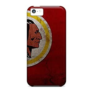 Durable Hard Phone Cases For Iphone 5c (SpG15424KzmI) Support Personal Customs Nice Washington Redskins Pattern