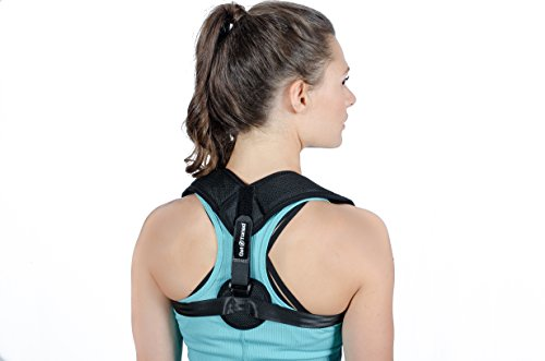 Posture Corrector for Women & Men - Easy Adjustable & Comfortable Clavicle Posture Brace - Breathable Posture Brace Under Clothes for Slouching & Hunching - Help Reduce Medical Problems by Get Toned