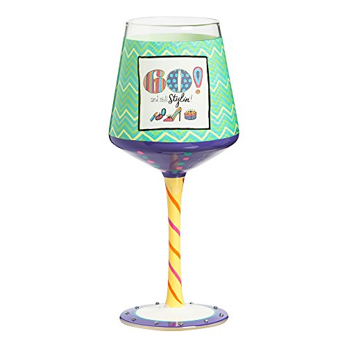 60th-Birthday-Hand-Painted-Wine-Glass