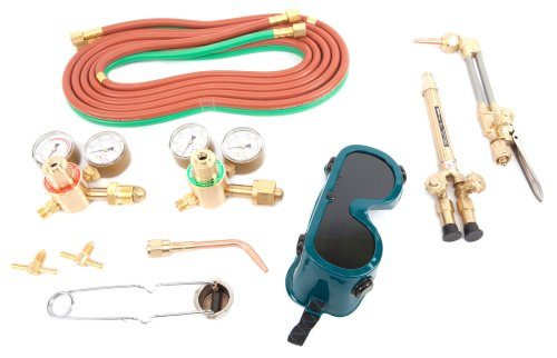 Forney 1680 Torch Kit, Light to Medium Duty, Victor Type Oxygen Acetylene (Light Cutting Torch)