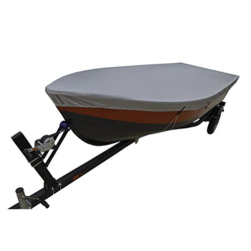 Boat Jon Package (Lunatic, L-1800, Silver Boat Cover 12' - 14' V-Hull Fishing)