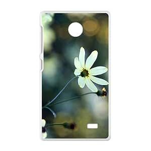 White Flower Dreamy Fresh White Phone Case for Nokia Lumia X