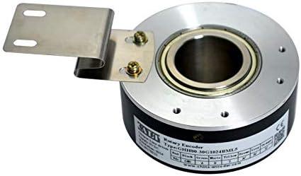 2500P//R 80mm Shaft 20mm NPN Output 5V to 26V Supply Apply to Elevator Hollow Shaft Rotary Encoder