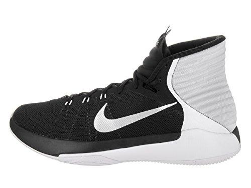 Herren Nike Prime Hype DF 2016 Basketballschuh Schwarz / Reflekt Silber / Weiß / Platin