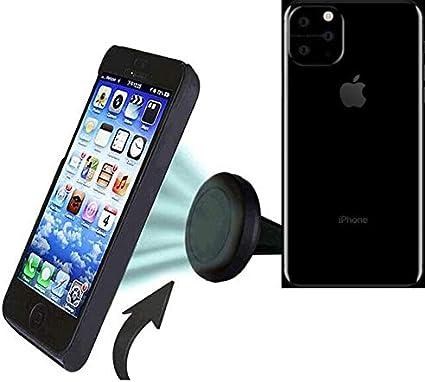 K-S-Trade® Coche Universal del Teléfono Móvil/GPS/Navegación Titular del Dispositivo por Ejemplo, para Apple iPhone 11 Pro Ventilación Holder Soporte De Rejilla Soporte para Teléfono: Amazon.es: Electrónica