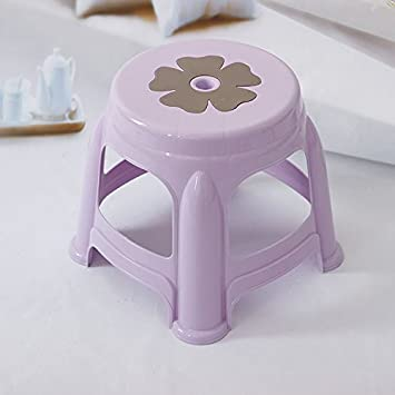 Dana Carrie Plastikstühle Auf Einem Niedrigen Hocker Nach Haushalt Klinker  Bänke Stühle Badezimmer Wohnzimmer Moderne Hocker
