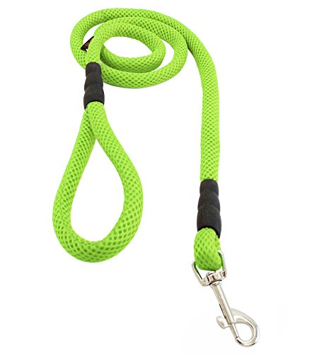 Product image of Gooby Mesh Dog Leash, 4', Green