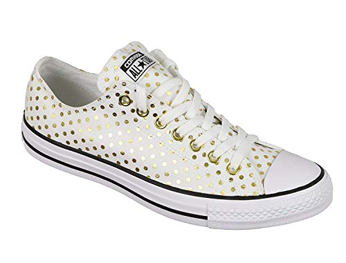 Low Dots Taylor Seasonal All 2018 Star Women's Sneaker Top Gold White Chuck 9440 Converse xqvwYZ0w