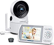 """Campark Baby Monitor Pan-Zoom 3.5"""" LCD Screen Video Camera Two-Way Talk Audio VOX Night V"""
