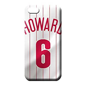 diy zhengiPhone 6 Plus Case 5.5 Inch Nice Back Durable phone Cases phone cover case philadelphia phillies mlb baseball