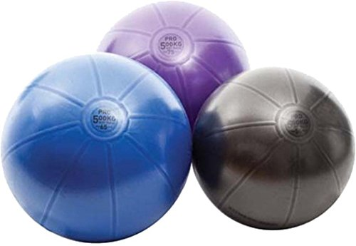 Studio Pro Swiss Ball 500kg 65cm Graphite by Fitness Mad