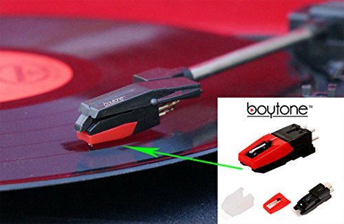 Boytone Stylus - Cartridge with needle record