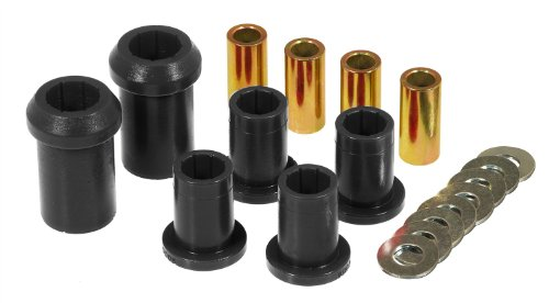 Prothane 4-206-BL Black Front Upper and Lower Control Arm Bushing Kit ()