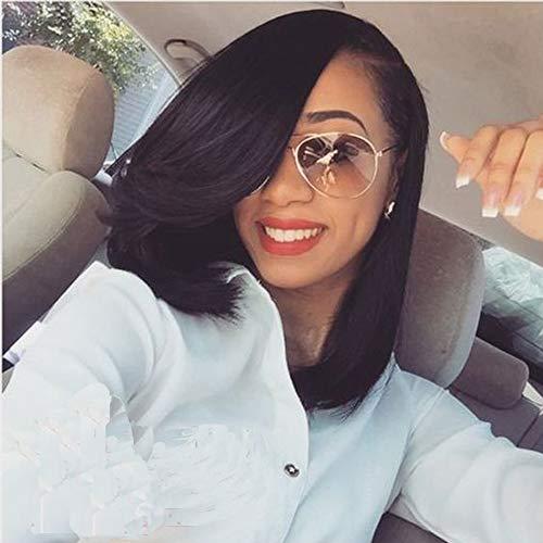 14Bob Wigs Short Straight Wig Synthetic Heat Resistant Fiber Hair For Black Women By Jo Bryan