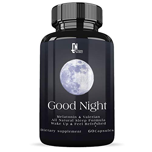 Extra Strength Sleep Aid -Restful Sleep - Insomnia Relief - with Melatonin & Chamomile- Wake up Feeling Rested - Sleeping Pills for Adults - 30 Day Supply