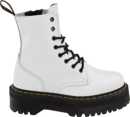 Dr. Martens Frauen Jadon Boot Weiß