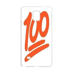 100 Emoji Custom Plastic Case for Samsung Galaxy Note4 by Nickcase
