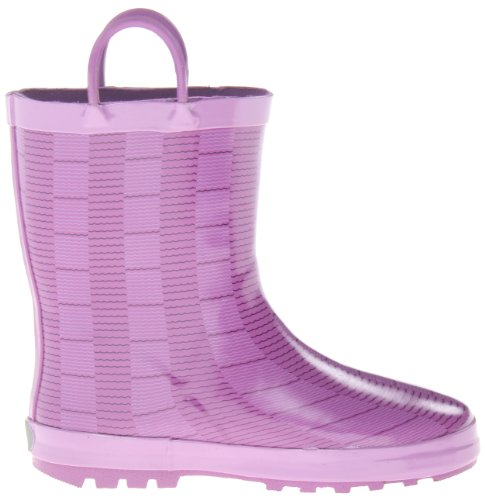 Octopus EK6358 Kamik Children's Dewberry Purple wellies wz404qa