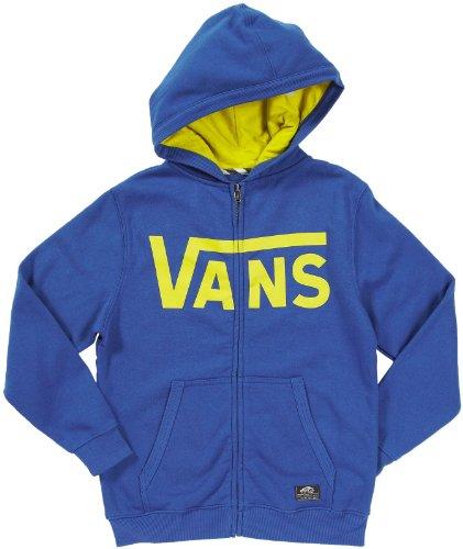 Vans classic zip bleu jaune enfant veste à capuche Vans T:L