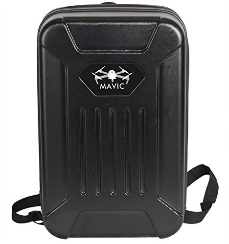 MD Group Backpack Handbag Case Box Black Waterproof Carrying Shoulder Box For DJI MAVIC Pro RC Quadcopter by MD Group