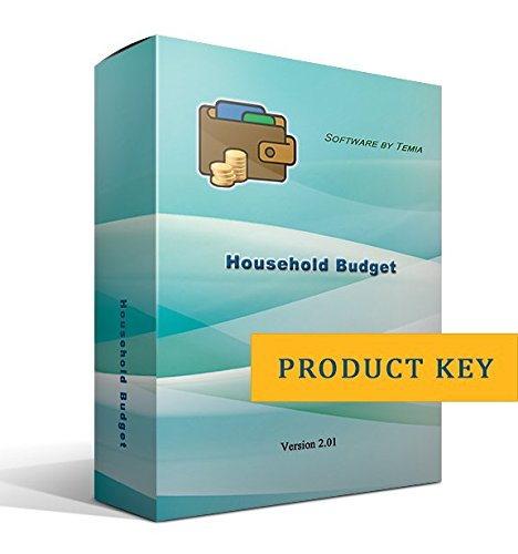 Household Budget [only product key, without CD] (Home Accounting Software)