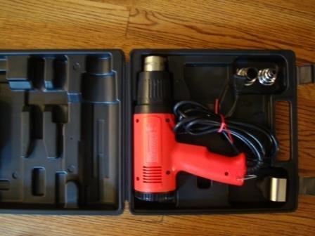 VT-1100 heat gun with Adjustable temp. dial