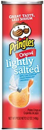 Potato Chips: Pringles Lightly Salted