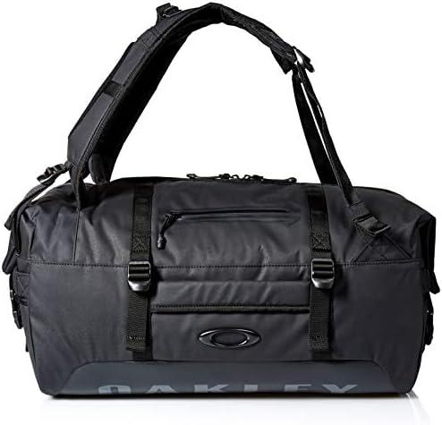 Oakley Mens Men s Training Duffle Bag, Blackout