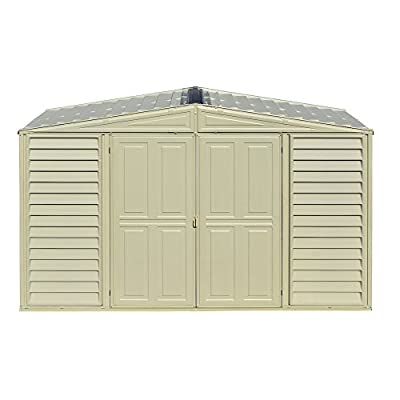 Duramax Woodbridge with Foundation Storage Shed, 10 by 3'