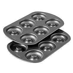Wilton Non-Stick 6-Cavity Donut Baking P...