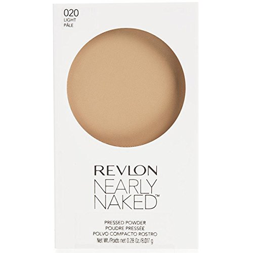 Revlon Nearly Naked Pressed Powder - Light - 0.28 oz ()