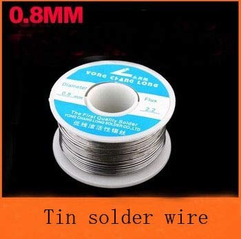 Jammas 50pcs/lot Wholesale Solder Wire reel 0.8mm 100g Tin Lead Melt Rosin Core Solder