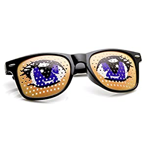 zeroUV - Poker Face Animal Goofy Eyes Costume Party Novelty Sunglasses