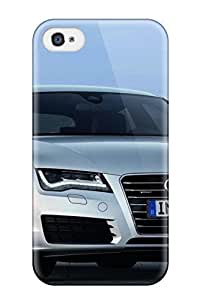 Chrislmes Perfect Tpu Case For Iphone 4/4s/ Anti-scratch Protector Case (audi A7 22)