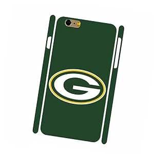 Green Bay Packers FC Logo Hard Carcasa Cover para iPhone 6 Puls,iPhone 6s Puls(5.5 Pulgadas) Durable Vintage Design ECO-Friendly Material Case Cover para Guys