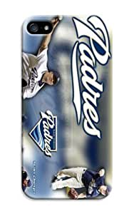 LarryToliver Customizable Baseball San Diego Padres Case With Hard Shell Cover for iphone 5/5s