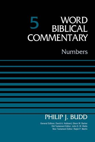 Numbers, Volume 5 (Word Biblical Commentary) pdf