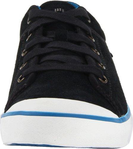 Sneaker In Pelle Scamosciata Da Donna Teva Nera / Blu