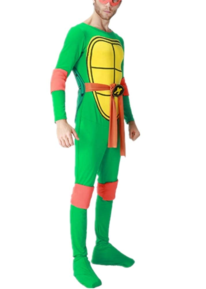 Mitef Disfraz de Tortuga Ninja mutante para Adulto y ...