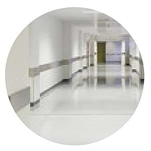 alfombrilla de ratón Entrada vacío del hospital - ronda - 20cm