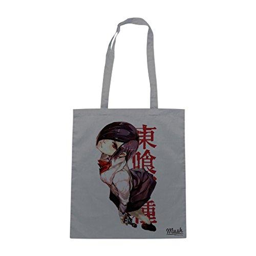 Borsa TOKYO GHOUL TOUKA MANGA - Grigio - CARTOON by Mush Dress Your Style