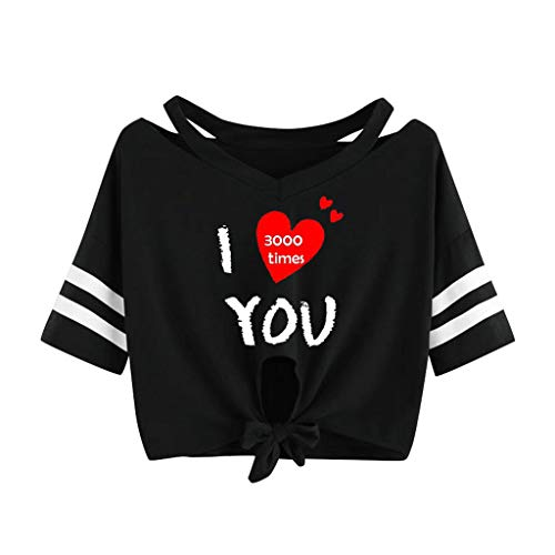 T Shirt for Men Graphic Mens Womens Funny T Shirts Letter Short Sleeve Graphic Tees Tops-i Love You 3000 Times
