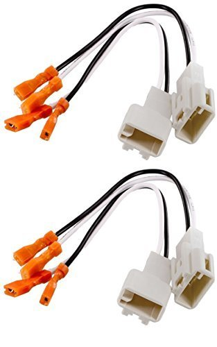 (2) Pair of Metra 72-8104 Speaker Wire Adapters for Select Toyota Vehicles – 4 Total Adapters